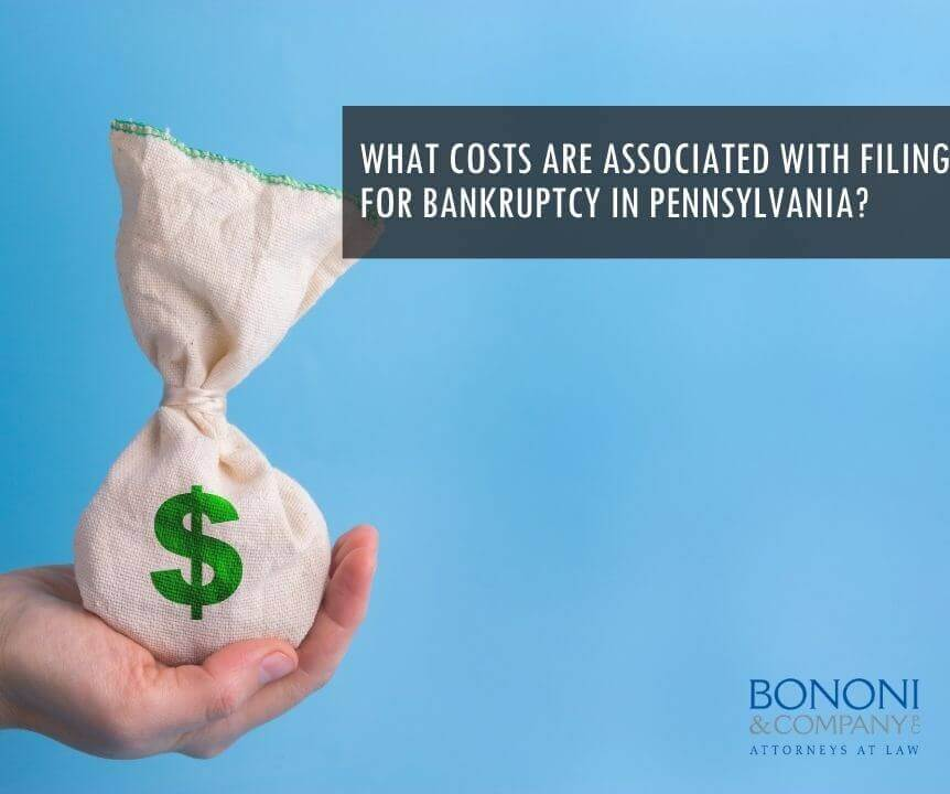 cost of filing bankruptcy