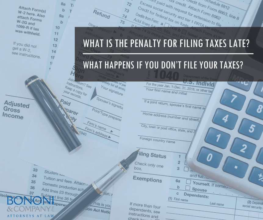filing taxes late