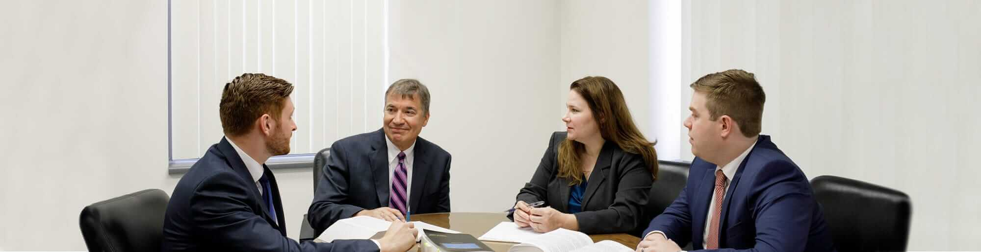 Eric Bononi Leads His Team of Attorneys in Meetings for You