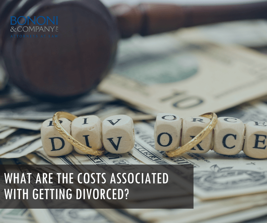 Costs associated with divorce