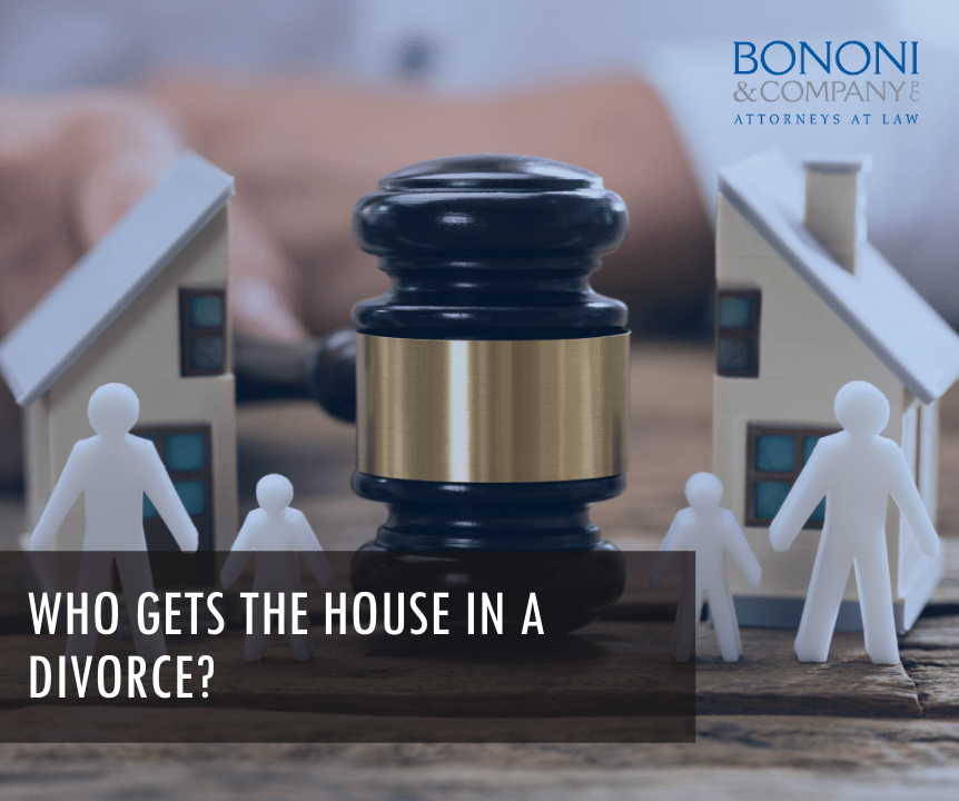 What spouse gets to keep the house in a divorce?
